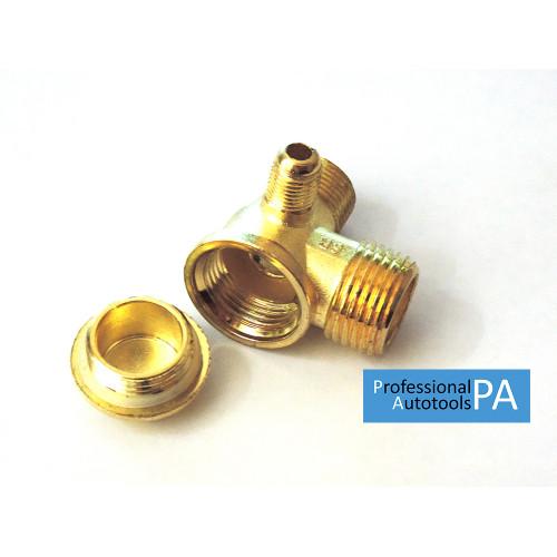Корпус обратного клапана для компрессора 1/2-3/8-1/8 - PAtools (155-0)
