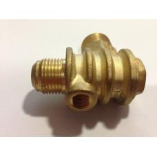 Обратный клапан большой 1/2 (20мм -19мм), медный - PAtools КомпКл3м