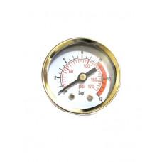 Манометр металлический 40мм 1/8 - PAtools 13G1