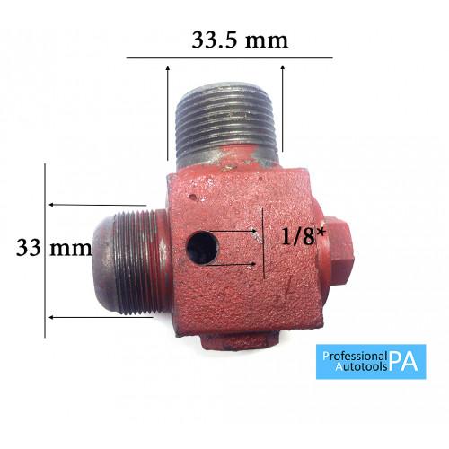 Обратный Клапан Большой 33мм*33.5мм*1/8 PAtools КомпКл5 (7855)