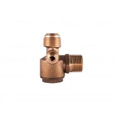 Обратный клапан 1/2-1/2-1/8 (20мм -20мм), с переходниками, медный - PAtools КомпКл7 (8292)