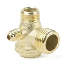 Обратный клапан для компрессора 1/2-3/8-1/8 - PAtools КомпКл1