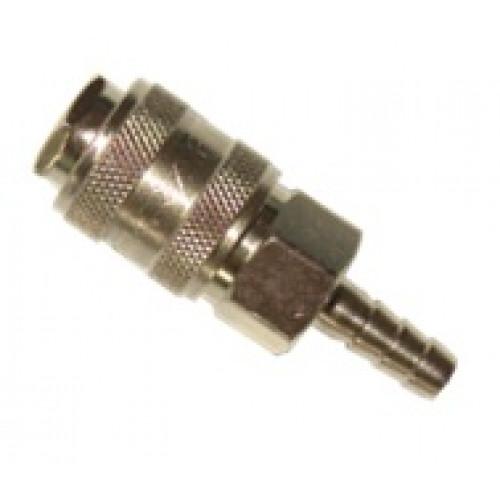 Быстроразъёмное соединение на шланг 10мм  AIRKRAFT SE1-4SH