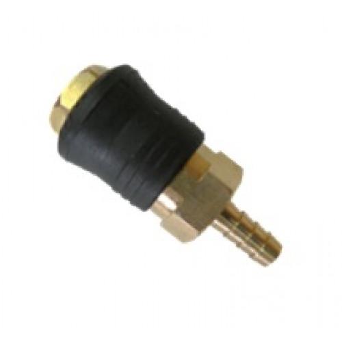 Быстроразъёмное соединение на шланг 8мм (PROFI) AIRKRAFT. Made in Italy.  SE6-3SH