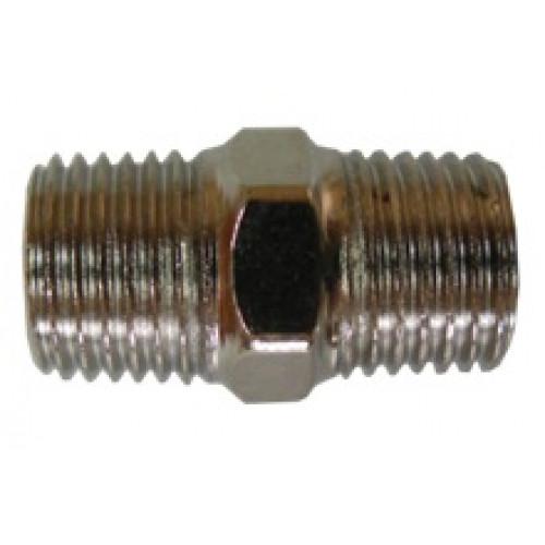 Резьбовое соединение с наружной резьбой 1/4 * 1/4  AIRKRAFT SMM04-04