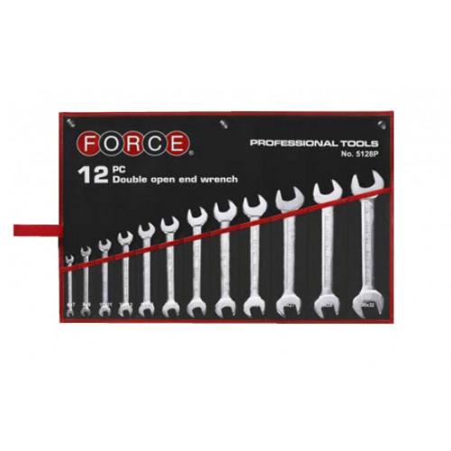 Набор ключей рожковых 12 пр. (6-32 мм) Force 5128P