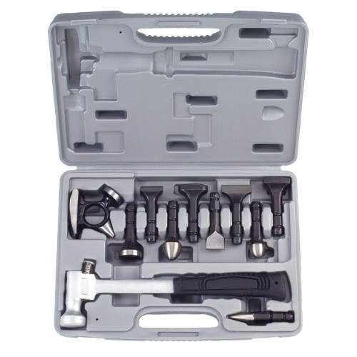 Рихтовочный молоток со сменными насадками 11предметов Force 911M1