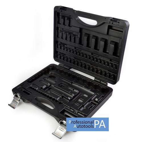 Кейс для набора инструмента 1/4 и 1/2 94 предмета Force 4941-5, 4941-9, 4941 (пустой) -Force PO4941