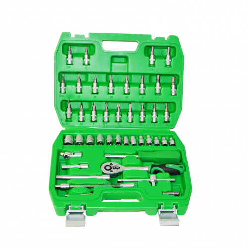 Набор инструментов 46 единиц 1/4 Intertool ET-6046