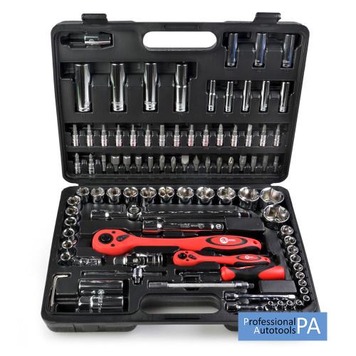 Профессиональный набор инструментов 94 ед Intertool ET-6094
