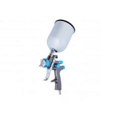 Краскопульт профессиональный 1,4 мм, верхний мет.бачок 600 мл, LVLP Intertool PT-0133