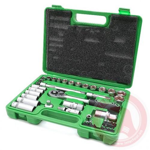 Набор Инструмента Intertool 39 единиц 6-ти гранный, модель ET-6039