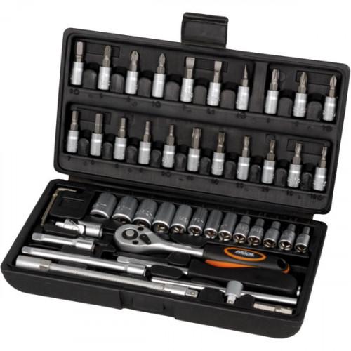 Набор Инструмента Miol 46 единиц 6-ти гранный, модель 58-160