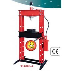Пресс гидравлический 30 т (напольный) с вертикальным насосом и пневмоприводом 97380/TL0500-4