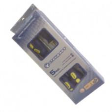 Набор отверток 5 ед. Стандарт (SL5x100, SL6x150, SL8x200, PH1x80, PH2x100) SDS05