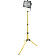 Прожектор галогеновый 1 х 400 Вт, на штативе, черный корпус Toya 82786