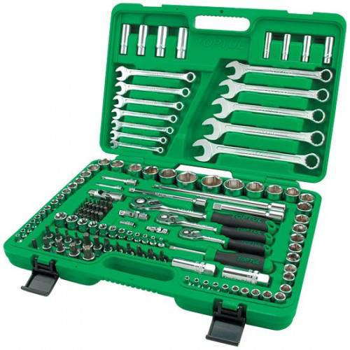 Набор Инструмента Toptul 130 единиц 6-ти гранный, модель GCAI130B