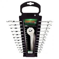 Набор ключей комбинированных на холдере 12 шт Toptul GAAC1201