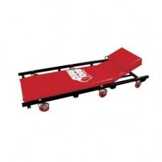 Лежак автослесаря подкатной с откидывающимся подголовником Torin TR6452