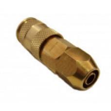 Быстроразъем для пневмосистемы под шланг d=6.5х10 мм Sumake EC30P