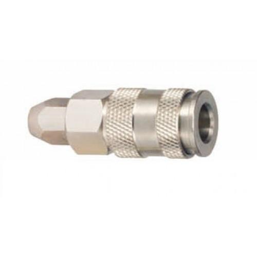 Быстроразъем для пневмосистемы тип Nitto под шланг d=8x12 мм Sumake 40SPO