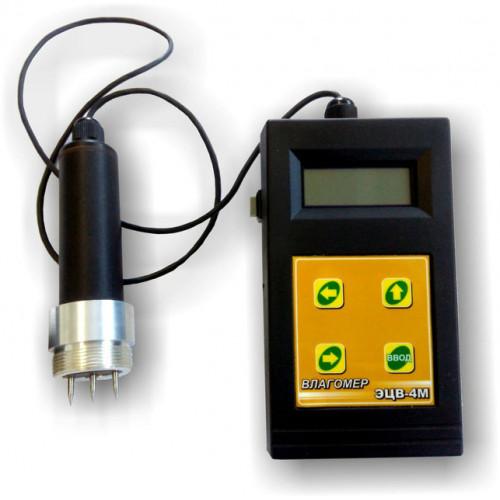 Электронный влагомер для измерения влажности древесины ЭЦВ-4М