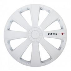 4 RACING RST WHITE КОЛПАКИ ДЛЯ КОЛЕС (Комплект 4 шт.)