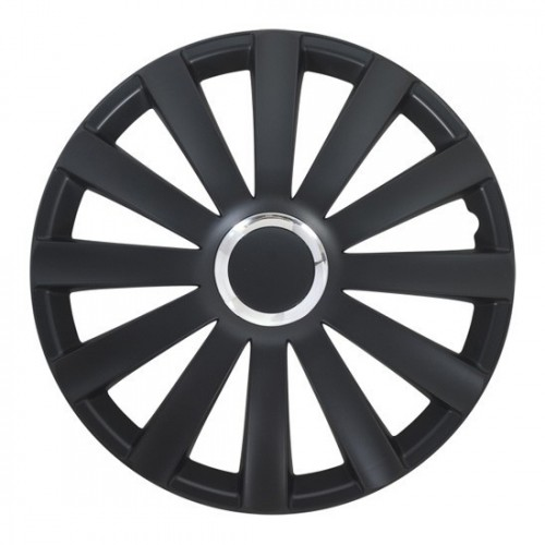 4 RACING Spyder Pro black КОЛПАКИ ДЛЯ КОЛЕС (Комплект 4 шт.)